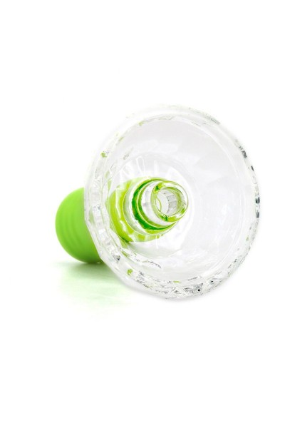 Cyborg Glas Tabakkopf Hulkman Green