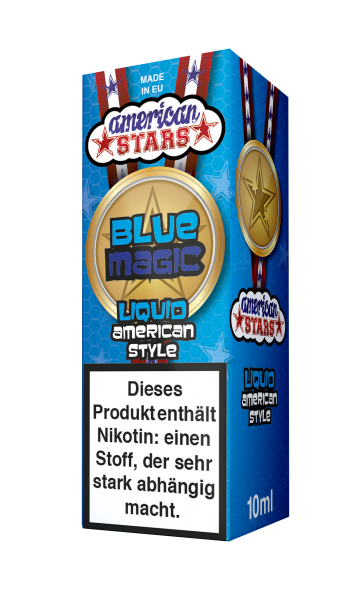 American Stars Blue Magic Liquid 10ml
