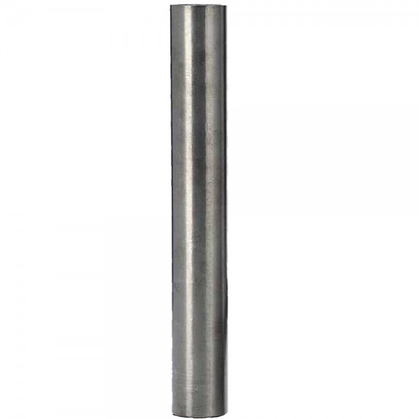 Smokezilla Wasserrohr Edelstahl Gun Metal 12cm