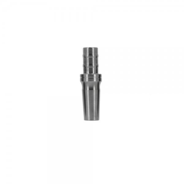 INVI Schlauchanschluss Edelstahl Gun Metal 14/5