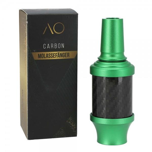 AO Carbon Molassefänger Aluminium Grün 18/8