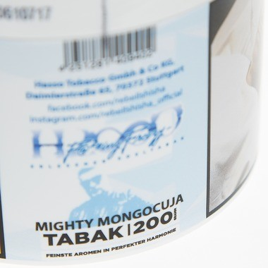 Hasso Tobacco Fucking Freezy Mighty Mangocuja 200g