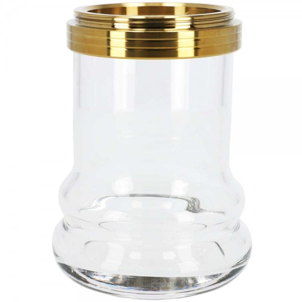Ersatzglas INVI Nano Edelstahl Gold Clear
