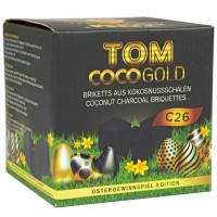 Tom Coco Osterspecial Kokoskohle 1kg