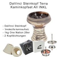Da Vinci Steinkopf Terra Kaminkopfset ALL INKLUSIVE