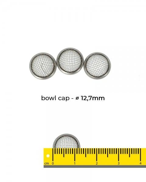 Aryva Bowl Cap Einlegesieb Ø=12,7mm - 5er-Pack