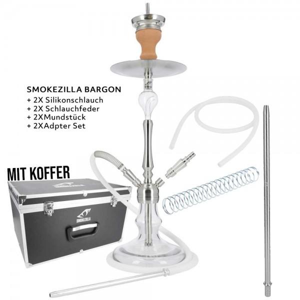 Smokezilla Baragon Edelstahl MONSTER mit Koffer