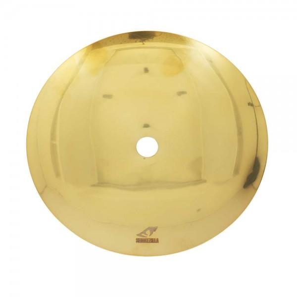 Smokezilla Kohleteller Edelstahl Shiny Gold 20cm