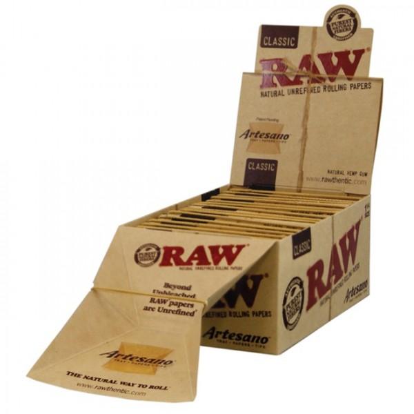 RAW-ARTESANO 1 1/4 +Tips-BOX15