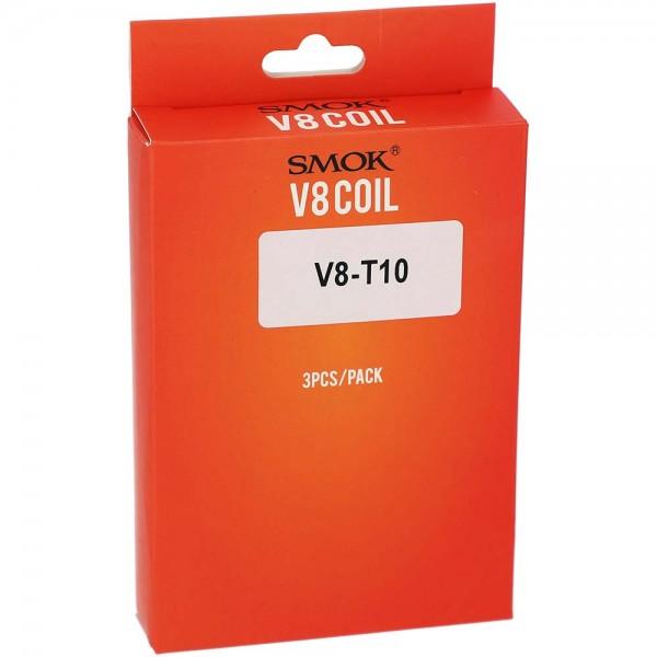 SMOK Ersatzverdampfer V8 Coil V8-T10 Head - 3 Stk.