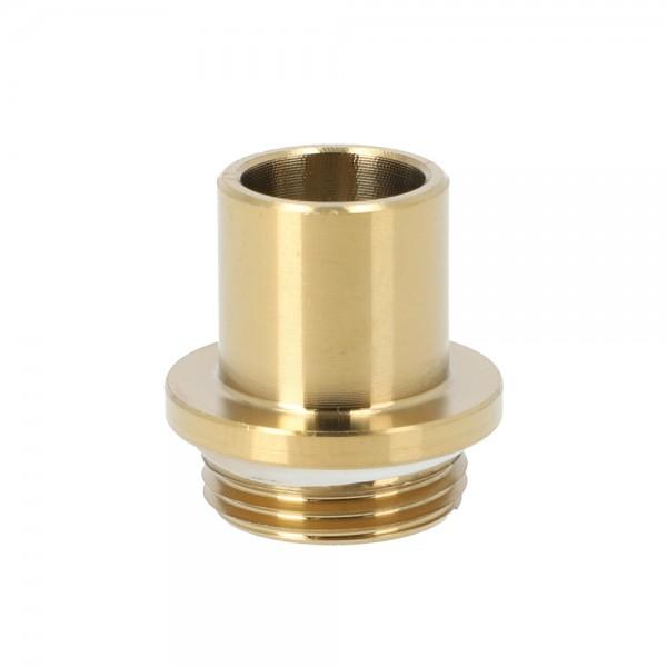 INVI Nano Schlauchadapter Edelstahl Gold
