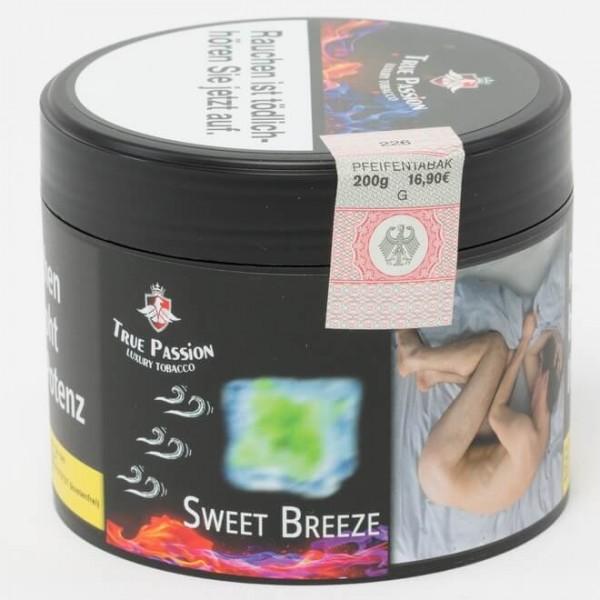 True Passion Tobacco Sweet Breeze 200g