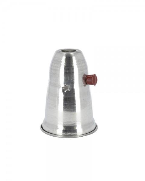 Windschutz Aladin Aluminium 14cm - mit Griff