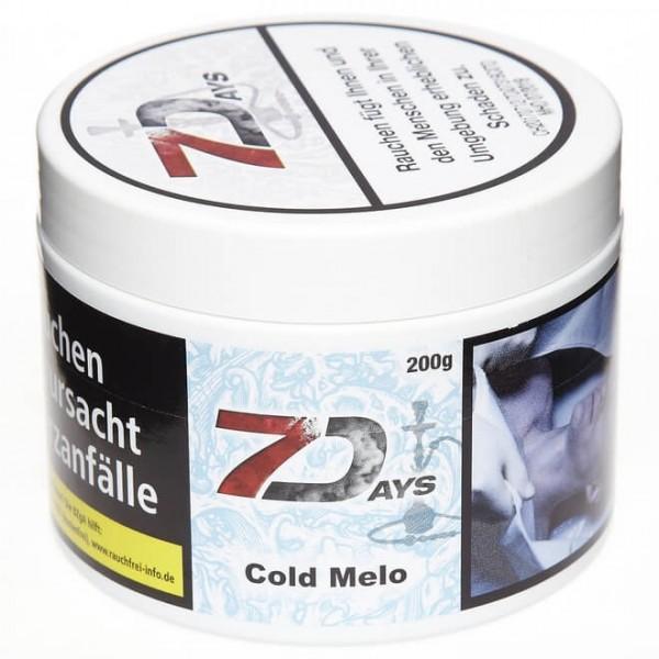 7Days Tobacco RF Cold Melo 200g