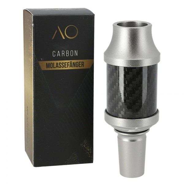 AO Carbon Molassefänger Aluminium 18/8
