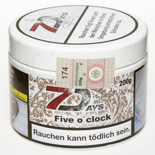 7Days Tobacco RF five oclock 200g