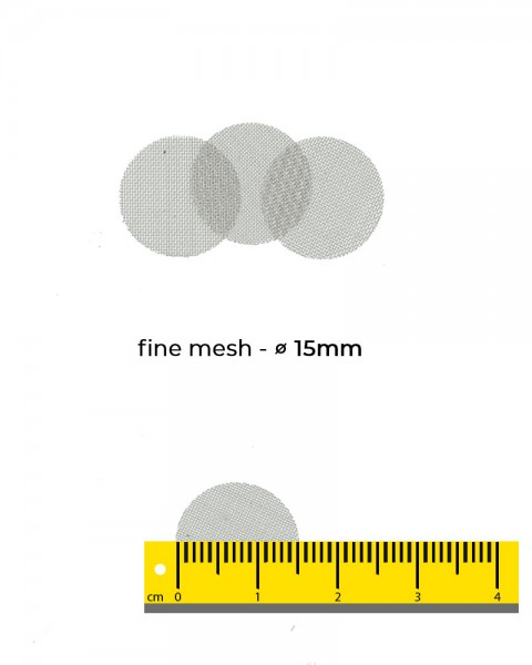 Aryva Fine Mesh Einlegesieb Ø=15mm - 100er-Pack