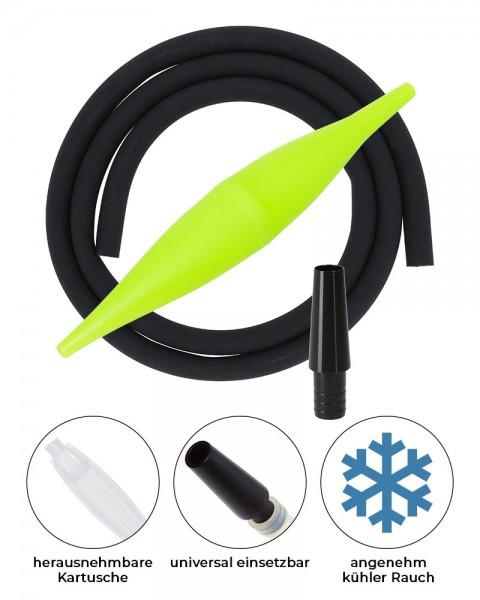 AO ICE Bazooka 2.0 Schlauchset Neongelb Schwarz ohne Schliff