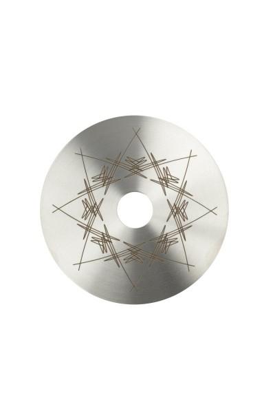Moze Kohleteller Breeze Two Top-Plate-Purge Edelstahl 13cm