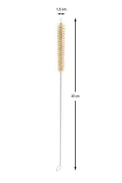 AO Rauchsäulenbürste 40cm Durchmessser 15mm mit Käppchen