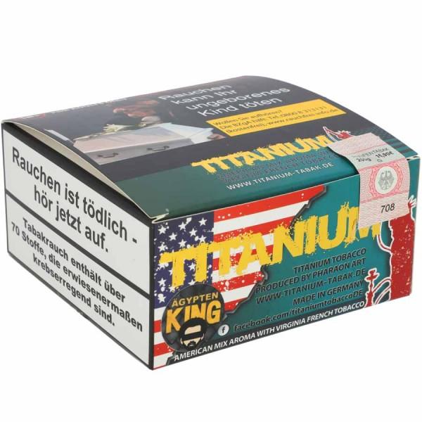 Titanium Tabak RF Ägypten King 200g