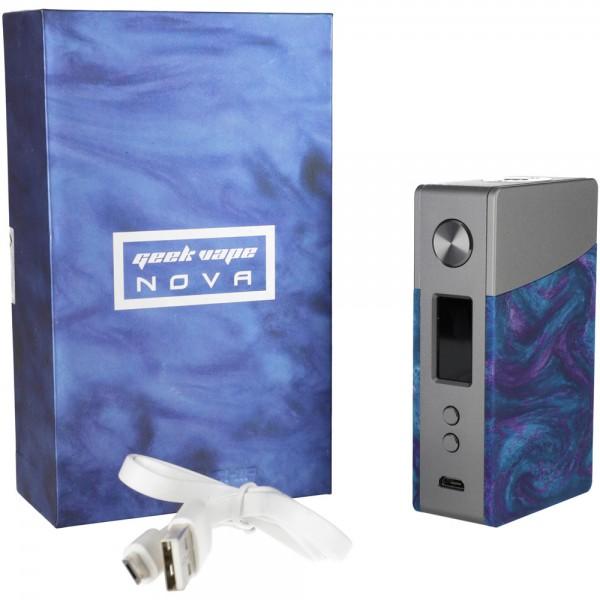 GeekVape NOVA 200W TC Box MOD Gun Metal-Cobalt