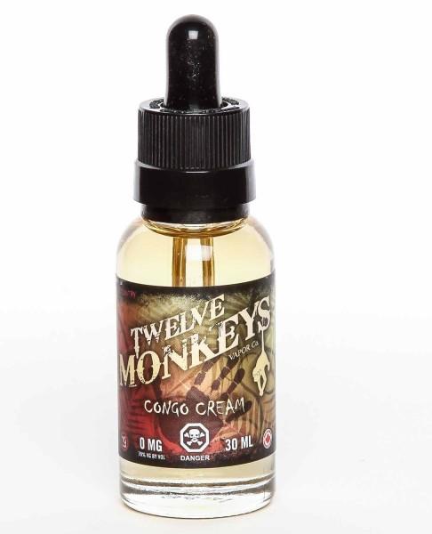 Twelve Monkeys Congo Cream 70 VG 0mg