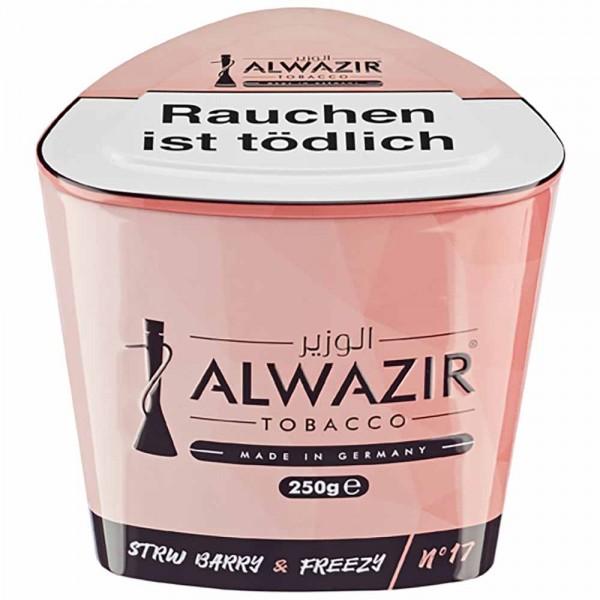Alwazir Tabak No.17 Strw Barry & Freezy 250g