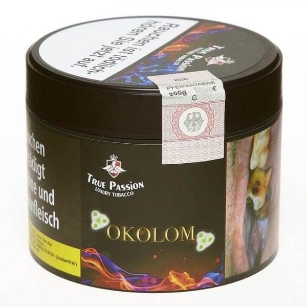 True Passion Tobacco Okolom 200g