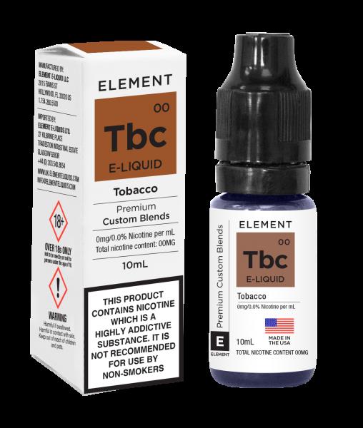 Element E Tbc Tabak Liquid 10ml