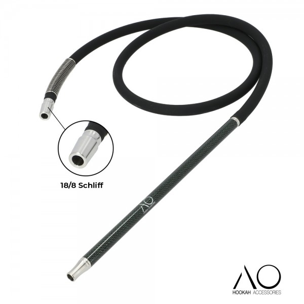 AO Carbon Schlauchset Schwarz-Grün18/8