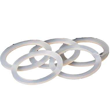 Dichtung MYA Ring flach für Gewindegläser 5 Stück