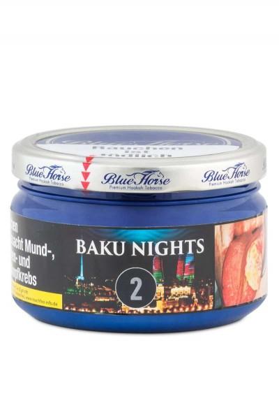 Blue Horse Tabak 2.0 BAKU NIGHTS 200g