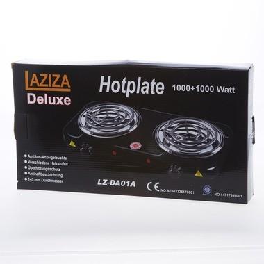 Laziza Hotplate Doppel LZ-DA01A 2x1000W Kohleanzünder
