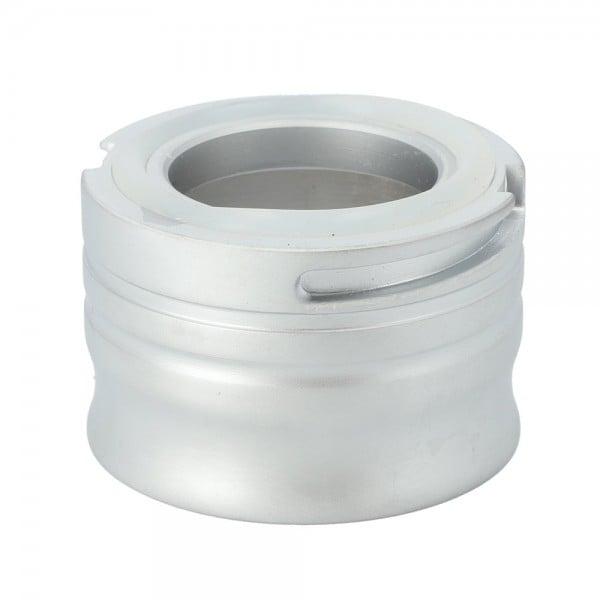 INVI Classic Klick-Gewinde Zinkmetall Silber