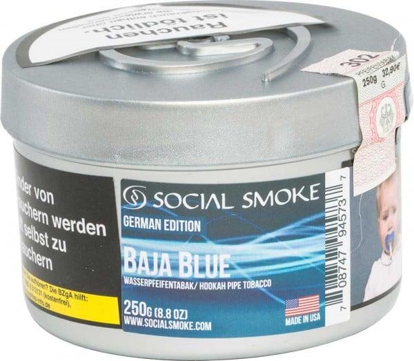 Social Smoke Baja Blue 250g