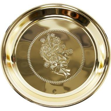 XXXL-Teller AMY 58 x 5cm Gold