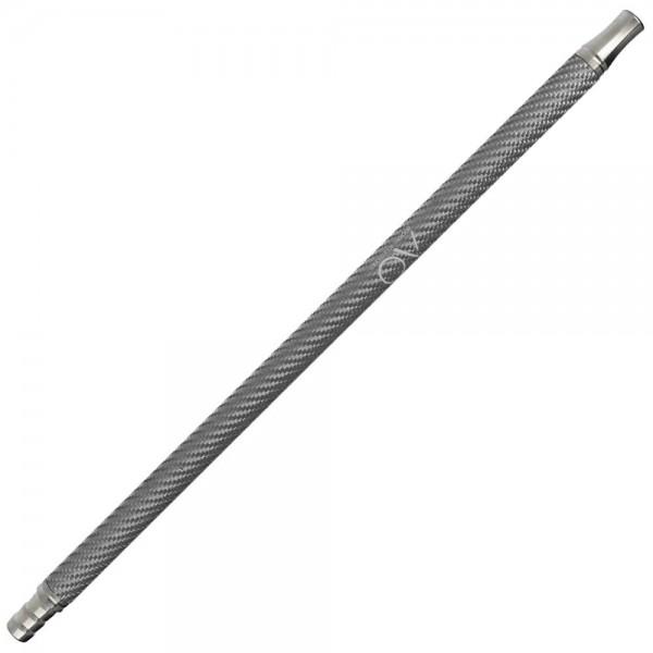 AO Carbon Mundstück Edelstahl V2A Silber