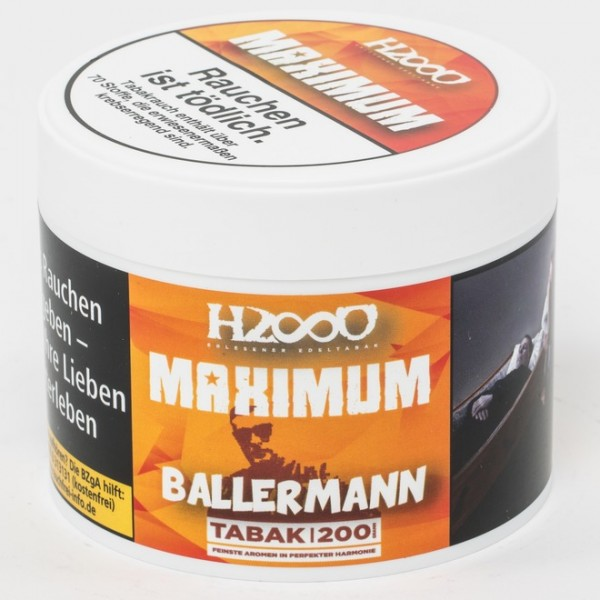 Hasso MAXIMUM Tobacco 200g Ballermann