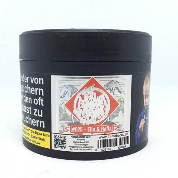 187 Strassenbande Tobacco #025 - Ello & Raffa 200g