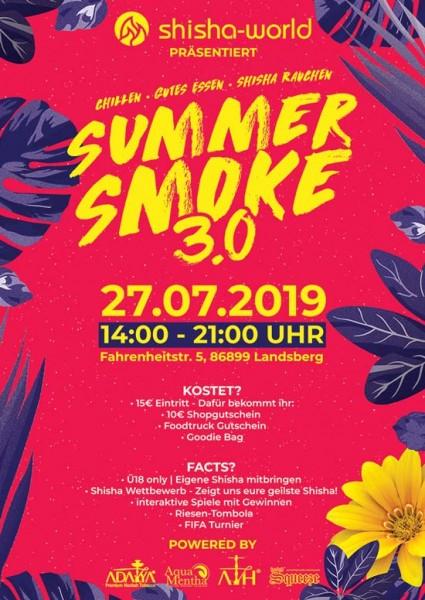 Summersmoke 3.0 Ticket (Hardticket)