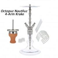 Octopuz Nautiluz Edelstahl 4-Arm Krake