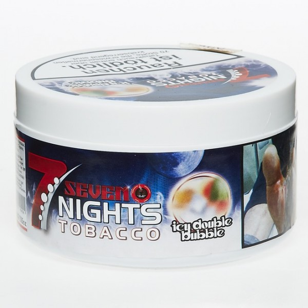 7 Nights Tobacco Icy Double Bubble 200g