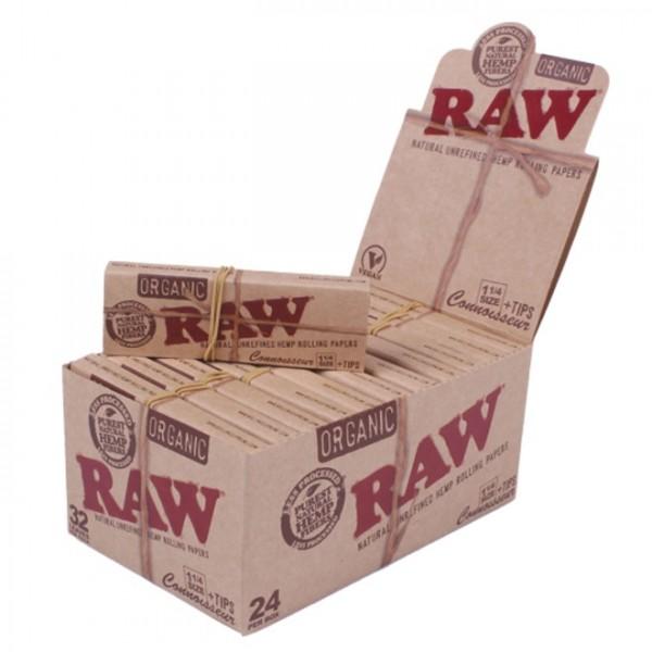 RAW-1 1/4-Connoisseur+Tips-VE24