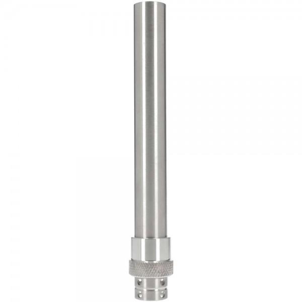 Genesis Wasserrohr Edelstahl 15,8cm mit Diffusor