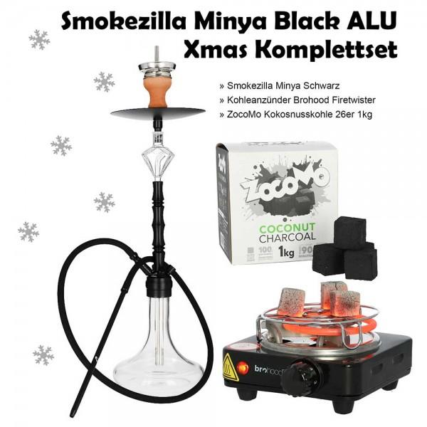 Smokezilla Minya Black ALU Komplettset - TAG 1