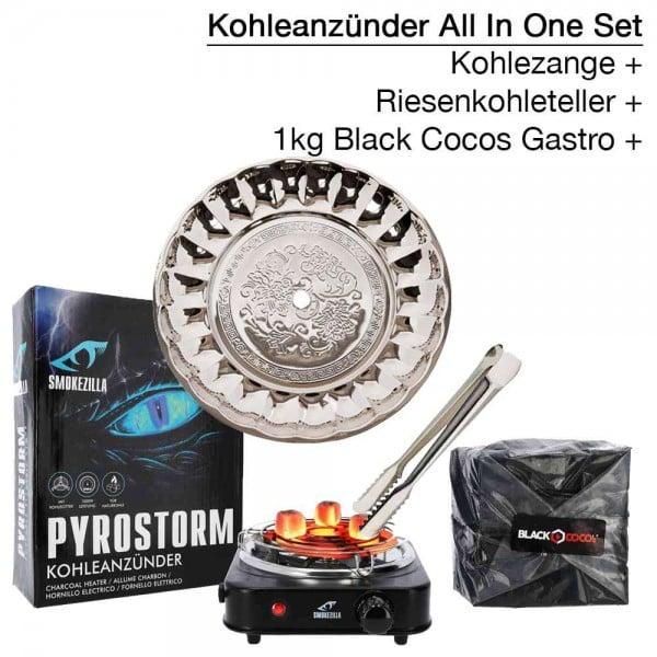 Smokezilla Pyrostorm 1000 Watt ALL IN ONE Komplettset