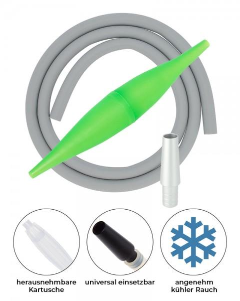 AO ICE Bazooka 2.0 Schlauchset Grün Grau Silber