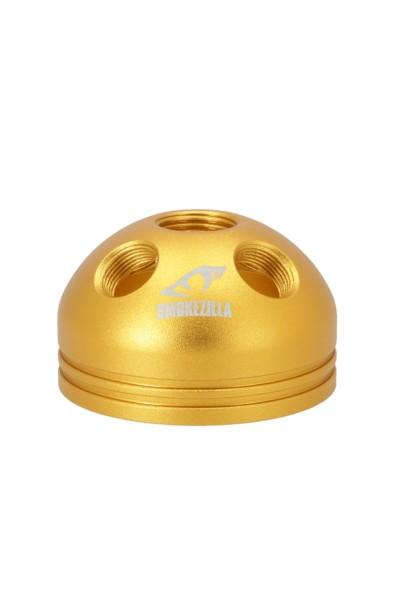 Smokezilla Rauchbase Baragon Aluminium Gold