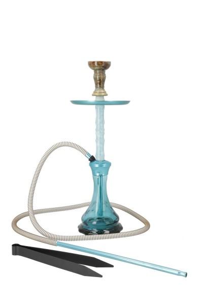 Mahalla Shisha Hype Weiss Blau